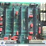 Motherboard Layer 1 (Fata cu componente)