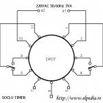 Soclu temporizator