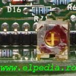 Invertec V140 - Detaliu PCB control