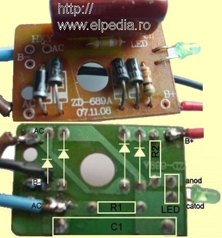Incarcator lanterna - PCB