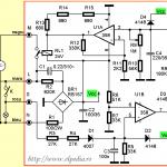 Schema electrica temporizator la revenire, 1-15minute, PO-406, pentru ventilatorul din baie