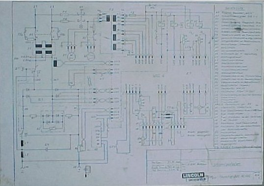 Thyrotig 220 AC/DC - Schema electrica generala